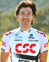 Fabian Cancellare (Team CSC) - Auftaktsieger der Tour of California - Foto: Team CSC