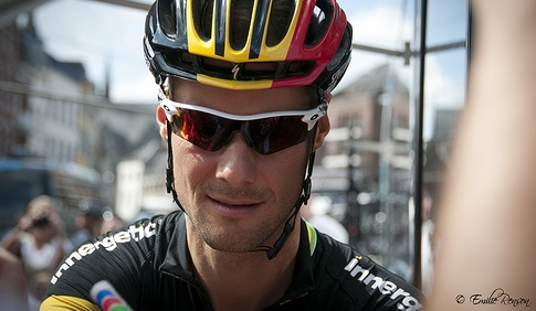 Musste die 97. Flandern-Rundfahrt nach einem Sturz vorzeitig beenden: Tom Boonen (Omega Pharma-Quick Step) - Foto: Emilie Renson