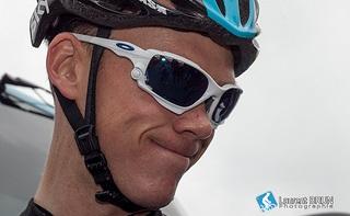 Neuer Mann in Gelb beim 65. Critérium du Dauphiné: Christopher Froome (Sky) - Foto: Laurent Brun