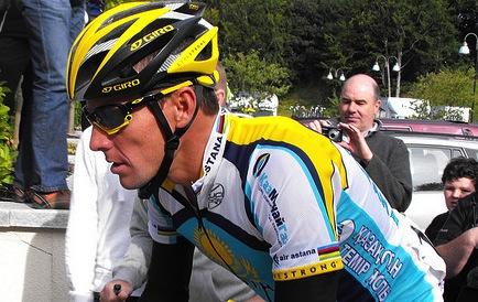 Lance Armstrong bei der Tour of Irland 2009 - Foto: Natalie Muir