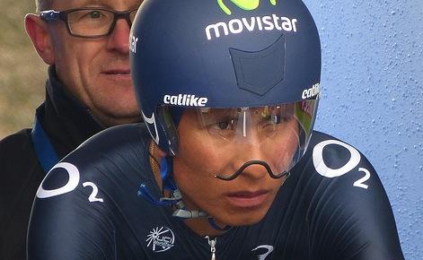Nairo Quintana (Movistar) - Foto: Natalie Muir
