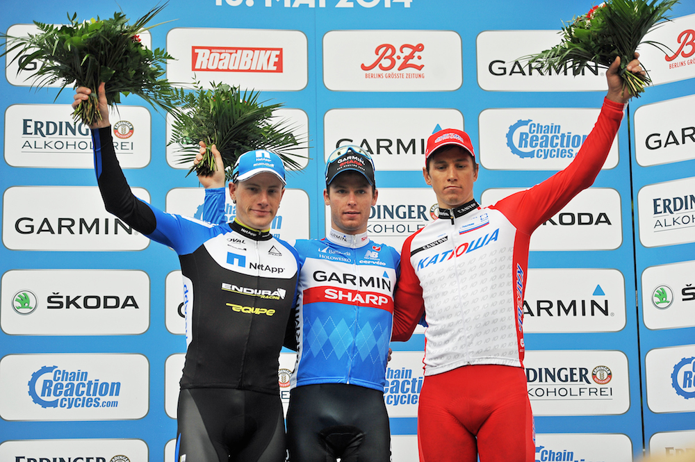 Podium  Garmin Velothon Berlin 2014