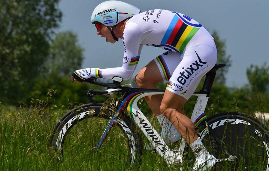 Zeitfahr-Weltmeister Tony Martin bei der Belgien-Rundfahrt 2014