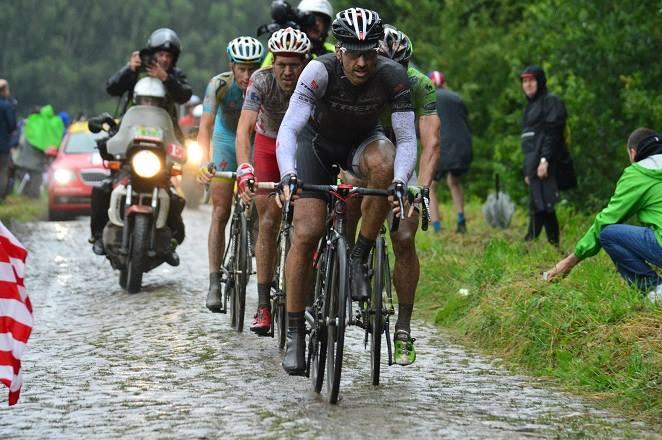 Fabian Cancellara auf der 5. Etappe der Tour de France 2014