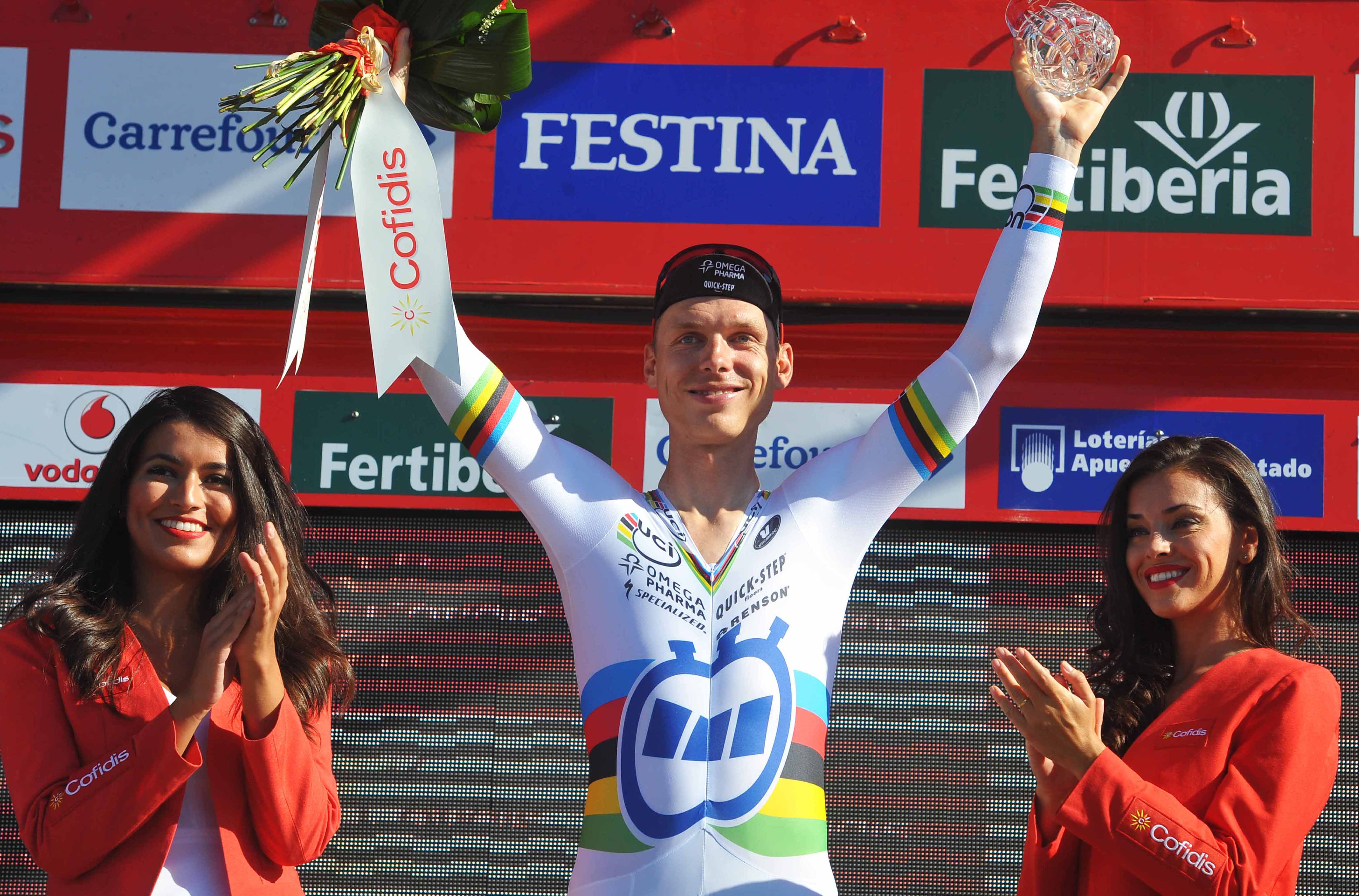 Tony Martin bei der Vuelta 2014