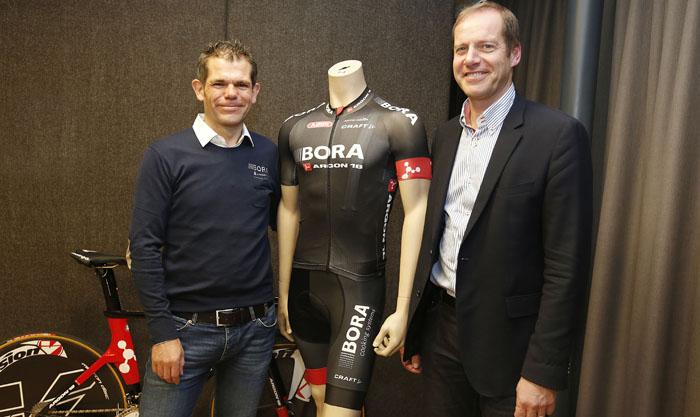 Pressekonferenz Team Bora - Argon 18