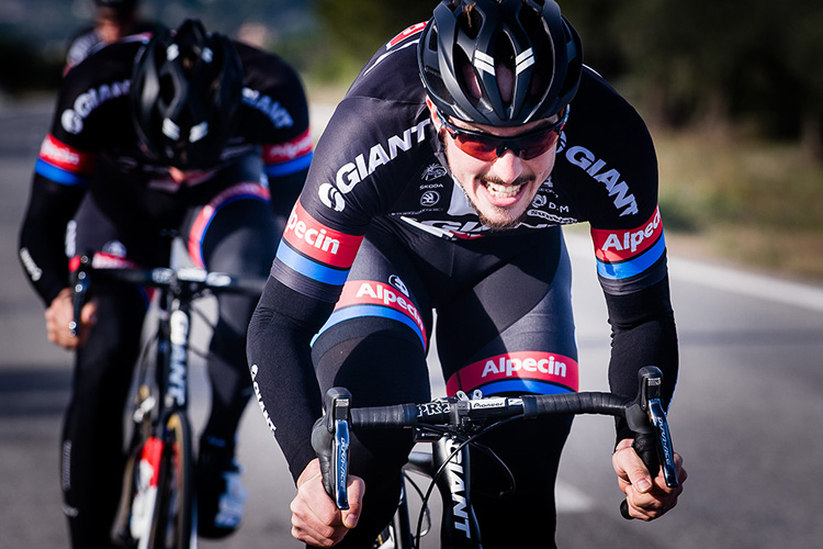 John Degenkolb im neuen Trikot des Team Giant-Alpecin