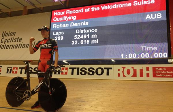 Neuer Stundenweltrekordler: Rohan Dennis (BMC Racing)
