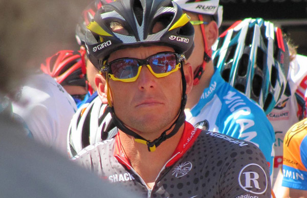 Lance Armstrong im Jahr 2010
