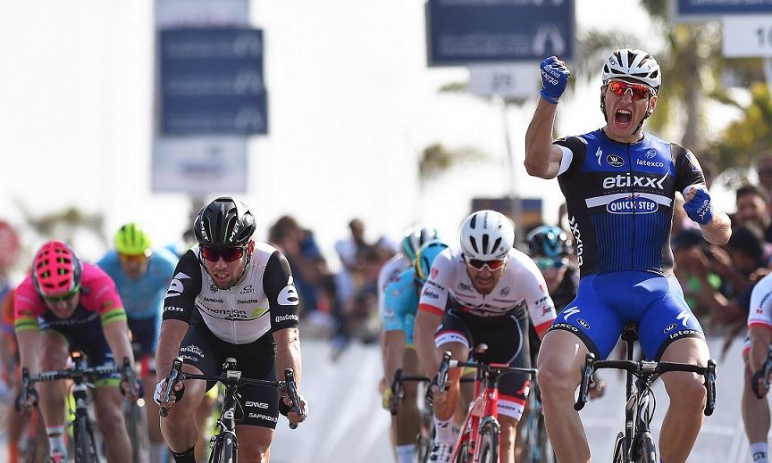 Marcel Kittel gewinnt die erste Etappe der Dubai-Rundfahrt