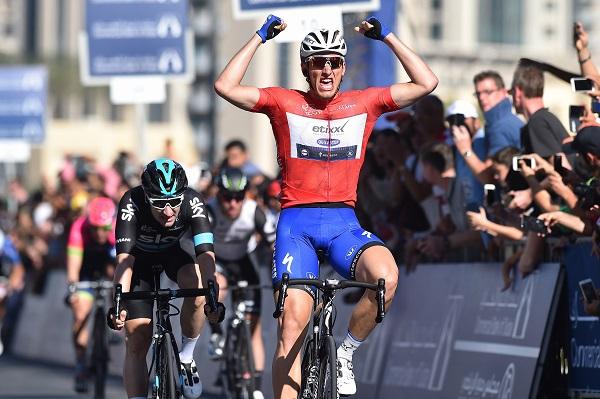 Marcel Kittel gewinnt die 4. Etappe der Dubai Tour 2016