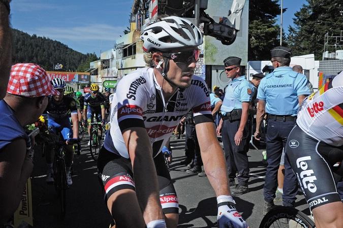 John Degenkolb nach der fünften Etappe der Tour de France 2016