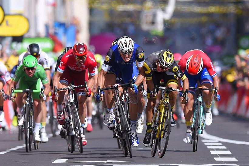 Marcel Kittel sprintet in Limoges zum Etappensieg / © Tim De Waele