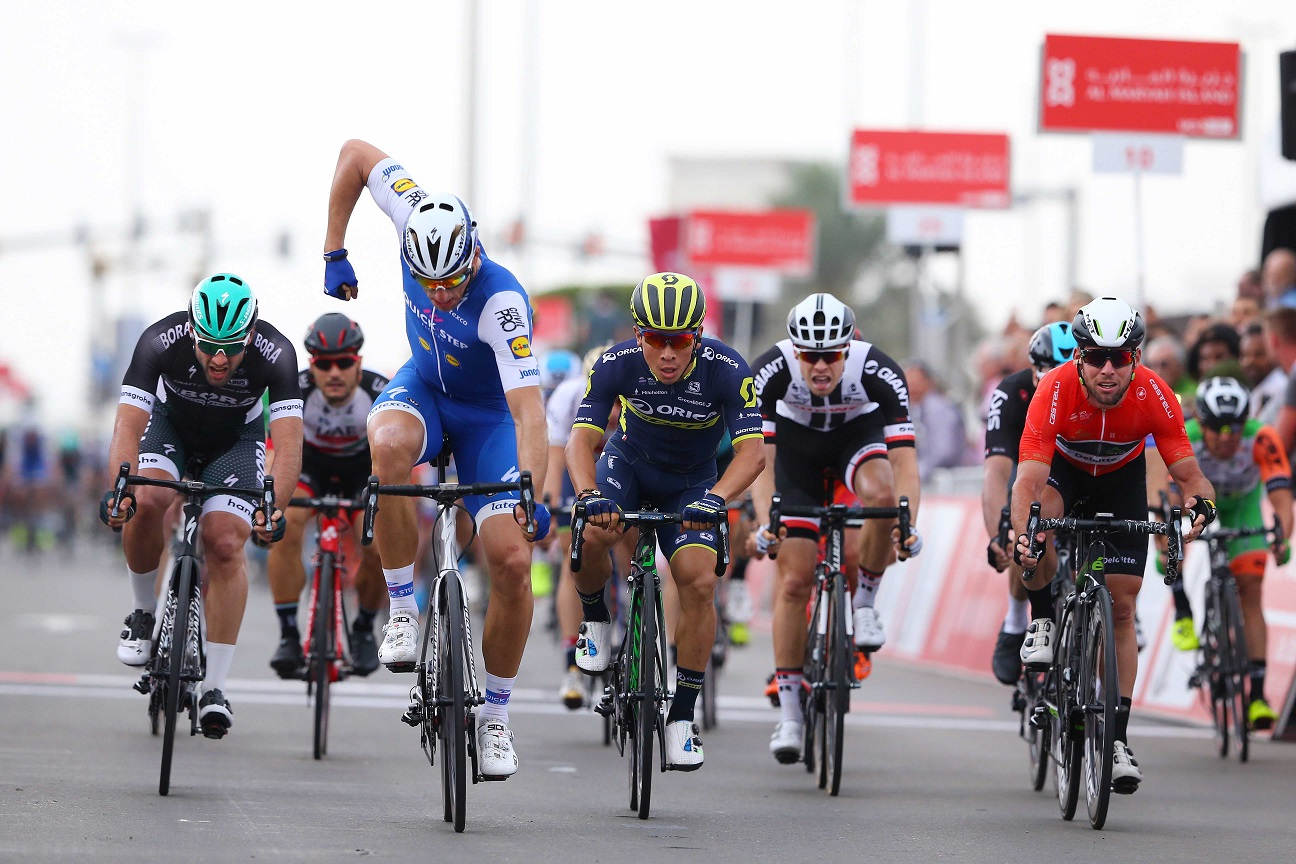 Marcel Kittel gewinnt die zweite Etappe der Abu Dhabi Tour 2017