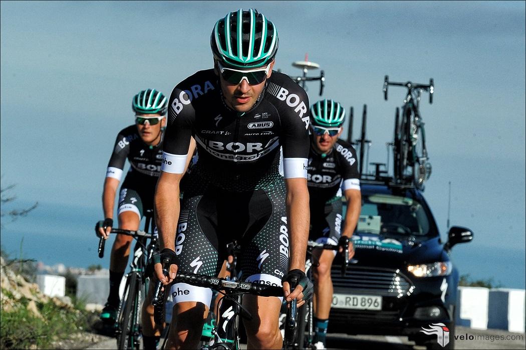 Für Emanuel Buchmann (Bora-hansgrohe) ist Paris-Nizza bereits nach der 1. Etappe beende