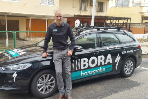 Jens Zemke vom Team Bora-hansgrohe