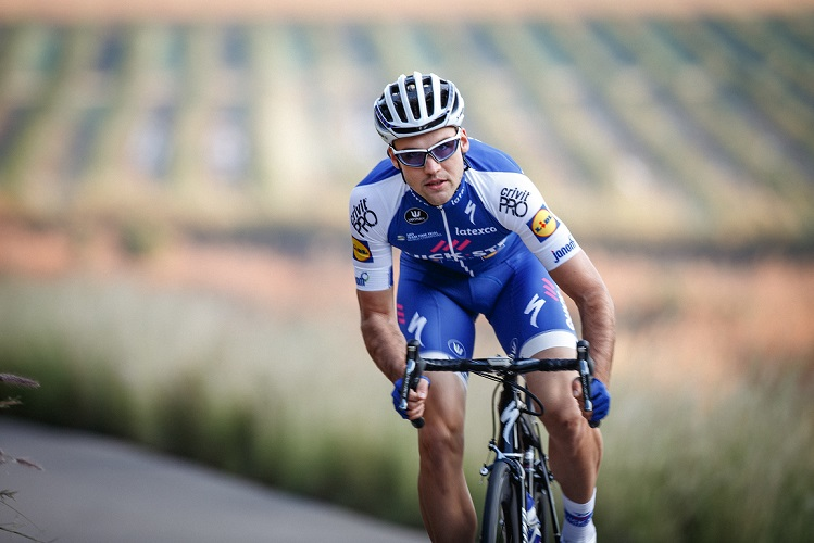 2018 einziger Deutscher bei Quick-Step Floors: Maximilian Schachmann - Foto: Jim Fryer / BrakeThrough Media