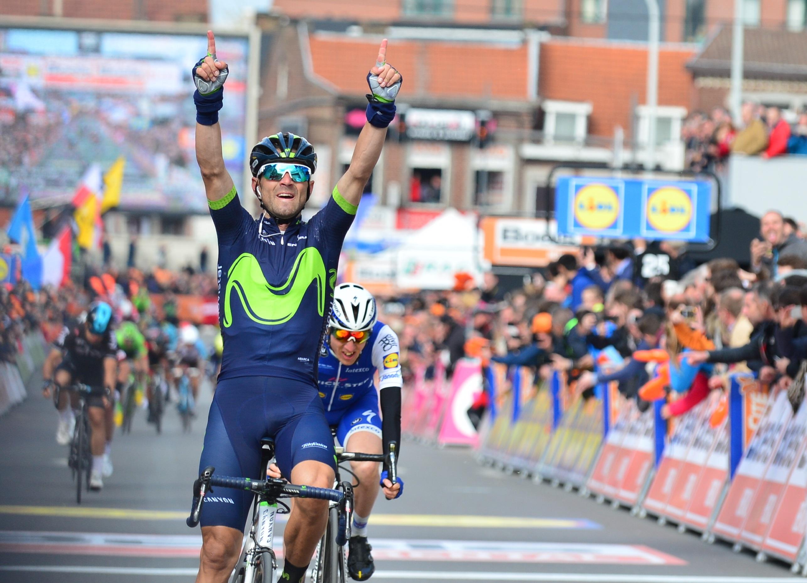 Alejandro Valverde gewinnt Lüttich-Bastogne-Lüttich 2017