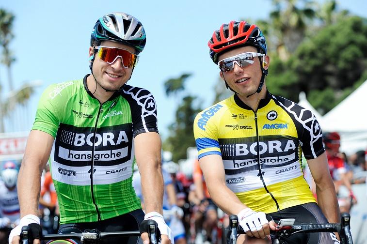 Bora-hansgrohe-Kapitäne für die 104. Tour de France: Peter Sagan (li.) und Rafal Majka