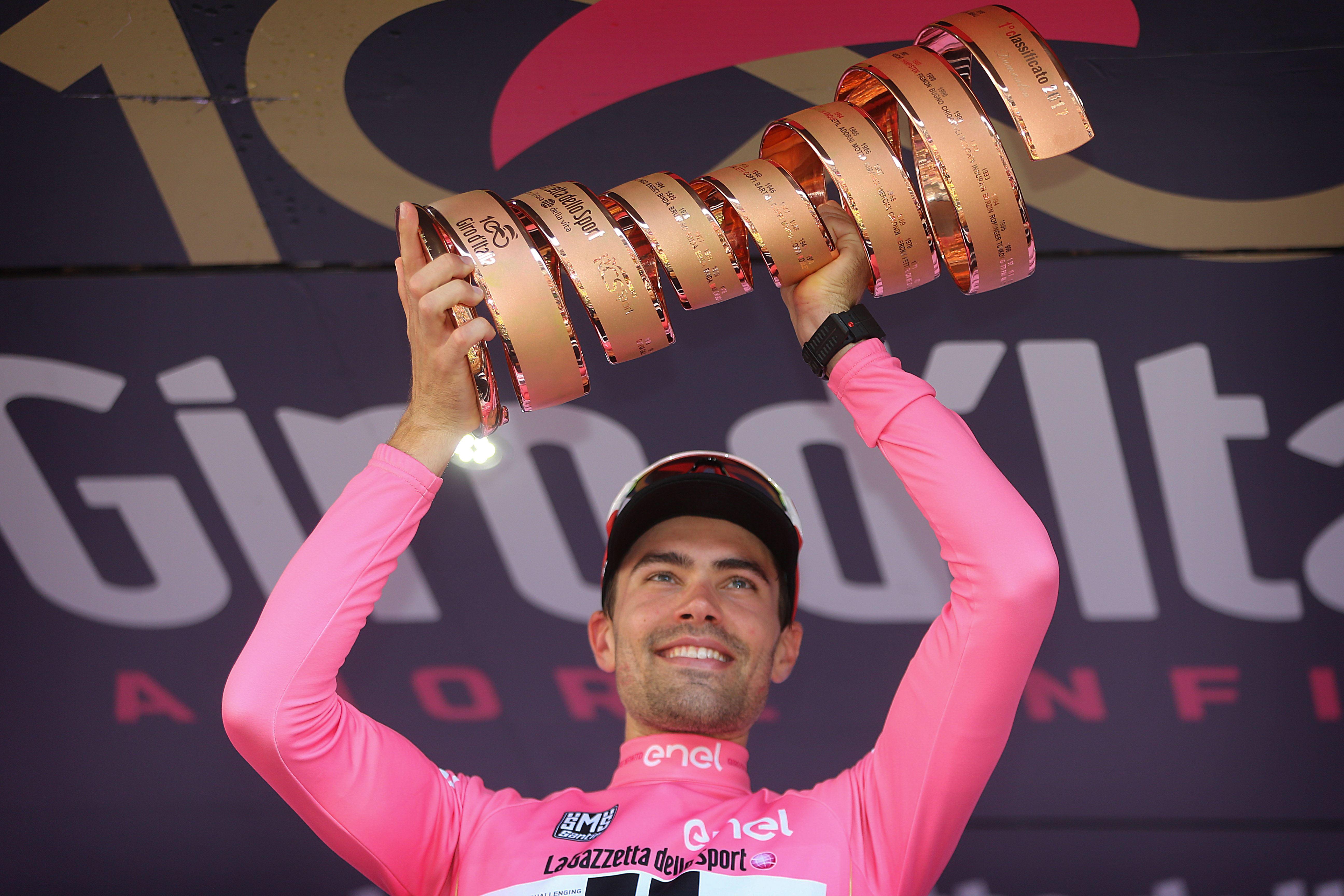 Sieger des 100. Giro d'Italia: Tom Dumoulin (Sunweb) - Foto: © Cor Vos / Team Sunweb
