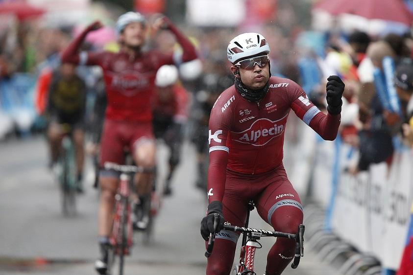 """Zum dritten Mal Sieger von """"Eschborn-Frankfurt: Alexander Kristoff (Katusha-Alpecin) - Foto: © Roth-Foto"""