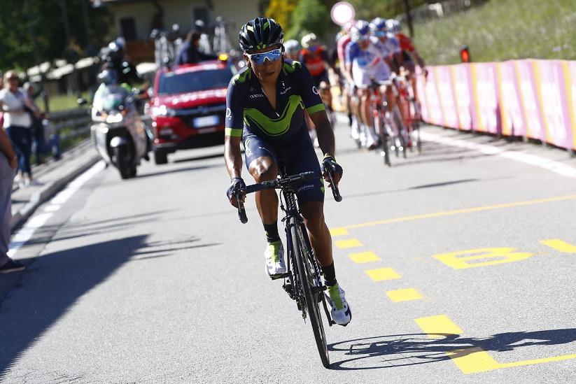 Neuer Gesamtführender des 100. Giro d'Italia: Nairo Quintana (Movistar)