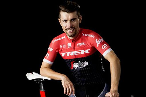 Wurde vier Tage vor der Tour de France wegen Dopings suspendiert: André Cardoso (Trek-Segafredo) - Foto: Trek-Segafredo