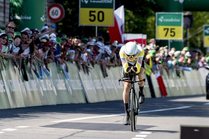 Prolog-Sieger der Tour de Suisse 2017: Rohan Dennis (BMC) - Foto: Tour de Suisse / www.tourdesuisse.ch