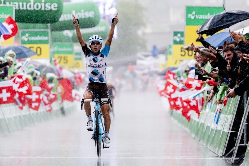 Königsetappen-Sieger der 81. Tour de Suisse: Domenico Pozzovivo (Ag2r) - Foto: Tour de Suisse / www.tourdesuisse.ch