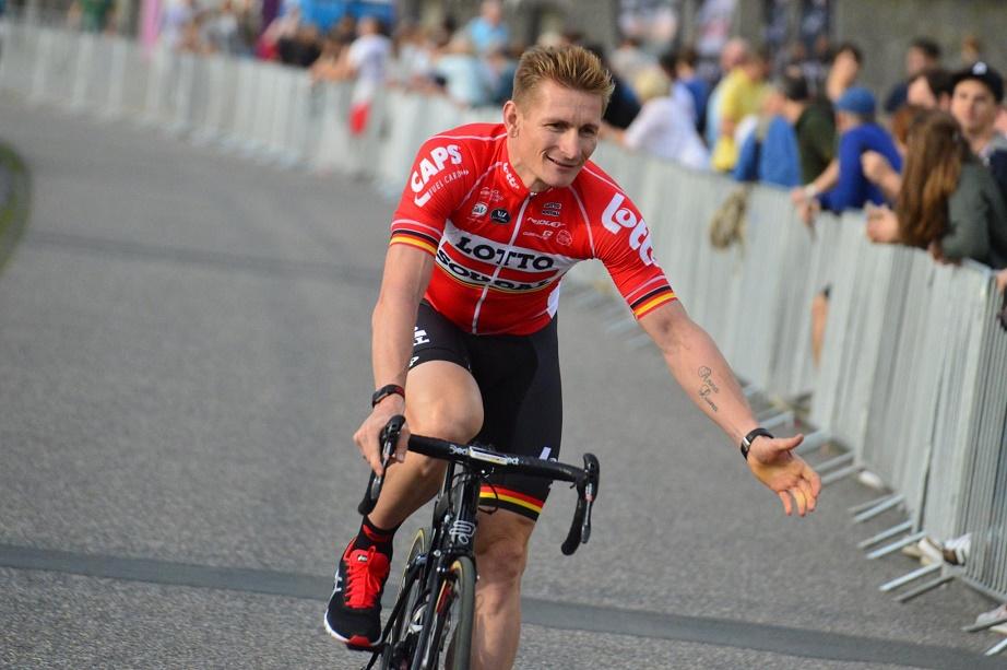Diesmal nicht Etappensieger auf der Champs-Élysées in Paris: André Greipel (Lotto Soudal) - Foto: Christopher Jobb / www.christopherjobb.de