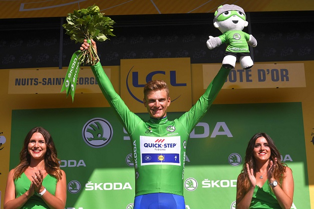 In den Massensprints der Tour de France 2017 nicht zu bezwingen: Marcel Kittel (Quick-Step Floors) - Foto: © Tim De Waele / Quick-Step Floors Cycling