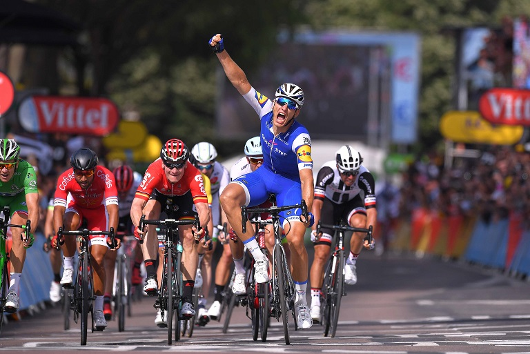 Etappensieger der 6. Etappe der Tour de France: Marcel Kittel (Quick-Step Floors) - Foto: © Tim De Waele / Quick-Step Floors Cycling