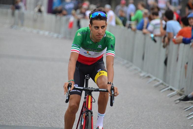 Gewinner der ersten Bergankunft der 104. Tour de France: Fabio Aru (Astana) - Foto: Christopher Jobb / www.christopherjobb.de