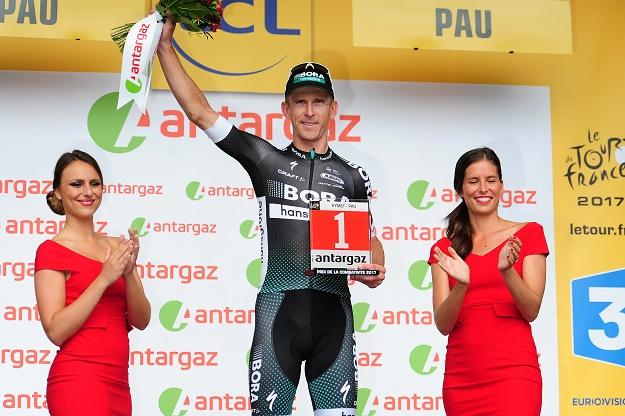 Kämpferischster Fahrer der 11. Etappe der Tour de France 2017: Maciej Bodnar (Bora-hansgrohe) - Foto: © BORA-hansgrohe / Stiehl Photography