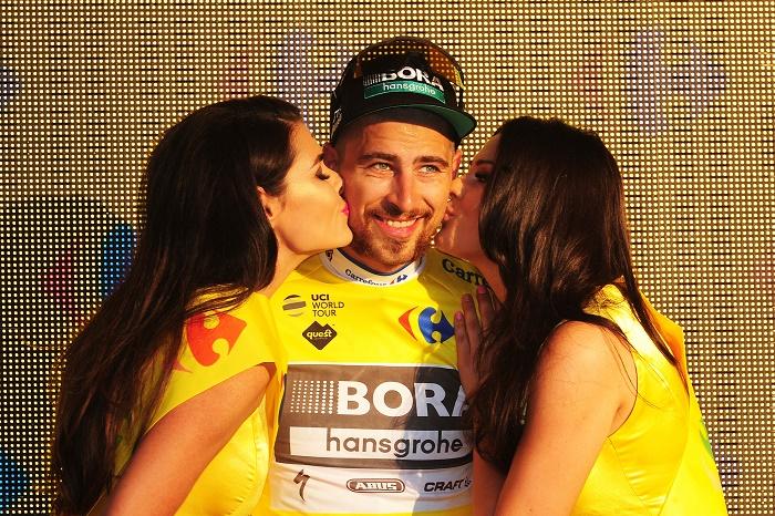 Zurück im Gelben Trikot der Polen-Rundfahrt 2017: Weltmeister Peter Sagan (Bora-hansgrohe) -Foto: © BORA-hansgrohe / Stiehl Photography