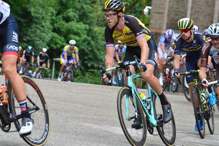 Etappensieger in Sittard-Geleen: Lars Boom (LottoNL-Jumbo) - Foto: Christopher Jobb / www.christopherjobb.de