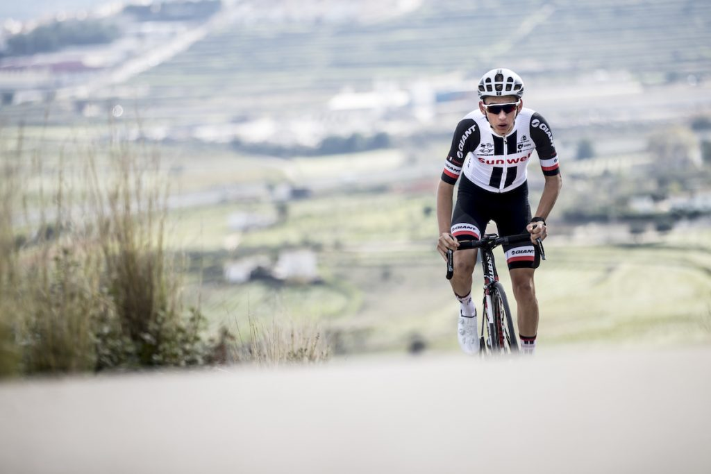 Vize-Weltmeister im Straßenrennen der U23 in Bergen 2017: Lennard Kämna - Foto: © Wouter Roosenboom / Team Sunweb