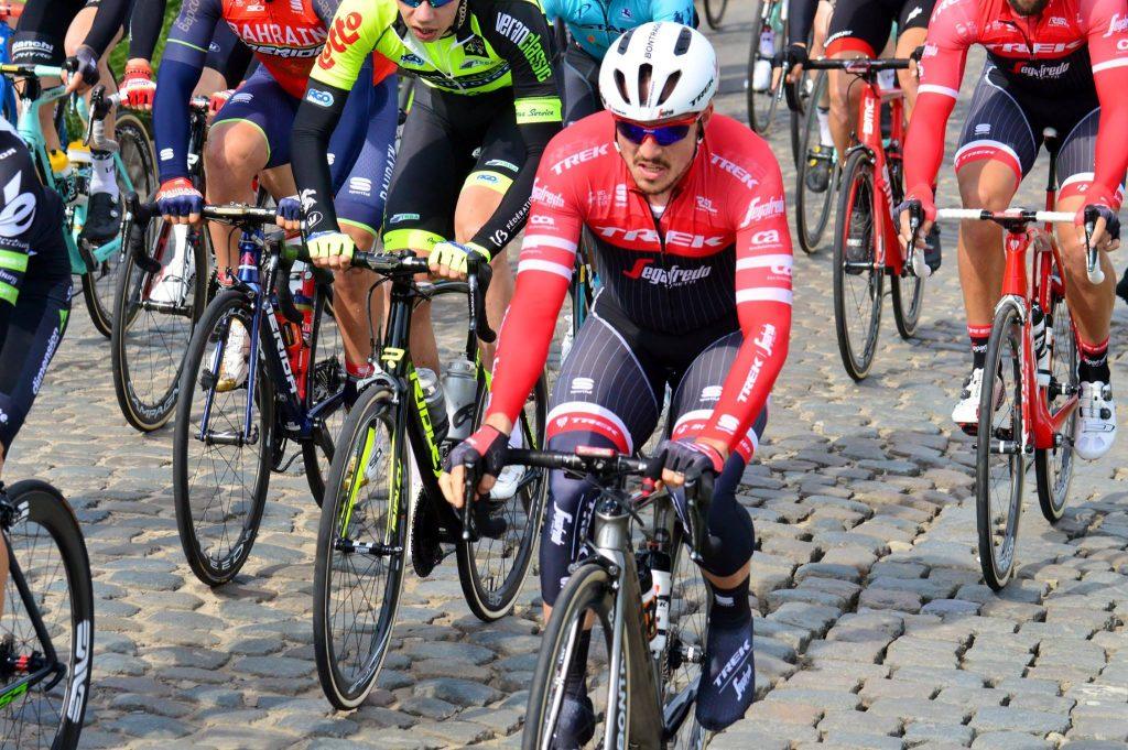 Konnte gleich im ersten Rennen den ersten Sieg 2018 einfahren: John Degenkolb (Trek-Segafredo) - Foto: Christopher Jobb / www.christopherjobb.de