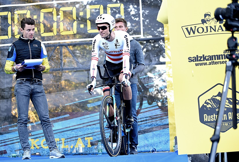 "Neuer Rekordhalter beim ""King of the Lake"": Sunweb-Profi Georg Preidler - Foto: © Tana Hell"