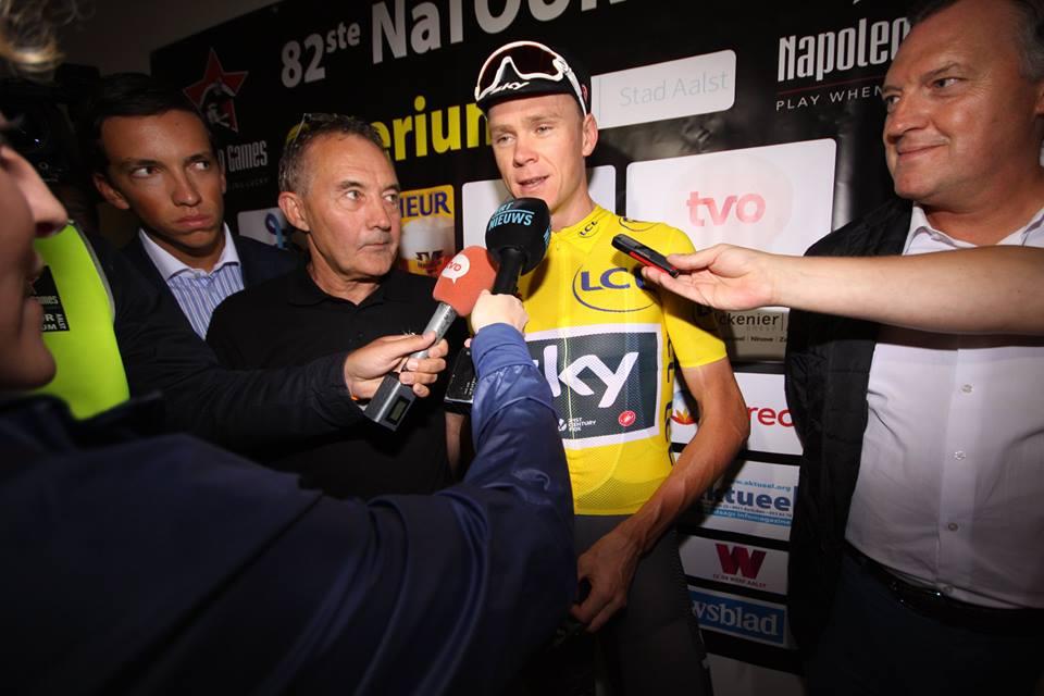 Muss sich erklären: Tour- und Vuelta-Sieger Christopher Froome (Sky) - Foto: Christopher Jobb / www.christopherjobb.de