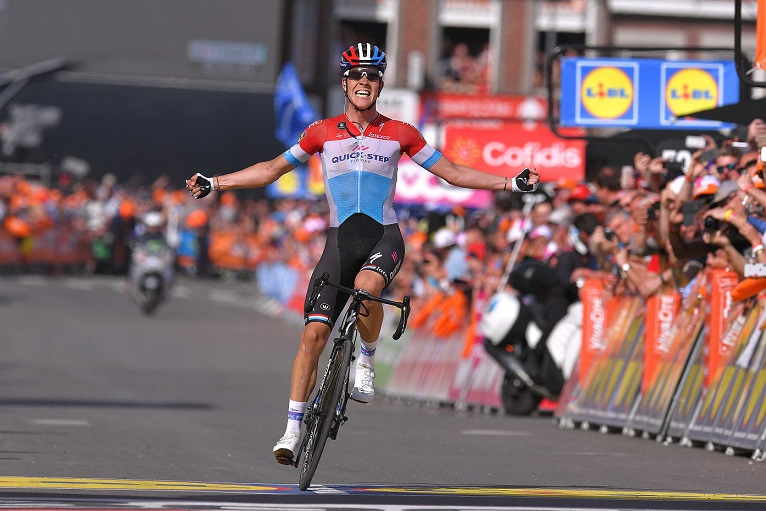 Dritter luxemburgischer Sieger von Lüttich-Bastogne-Lüttich: Bob Jungels (Quick-Step Floors) - Foto: © Quick-Step Floors Cycling Team / Getty Images