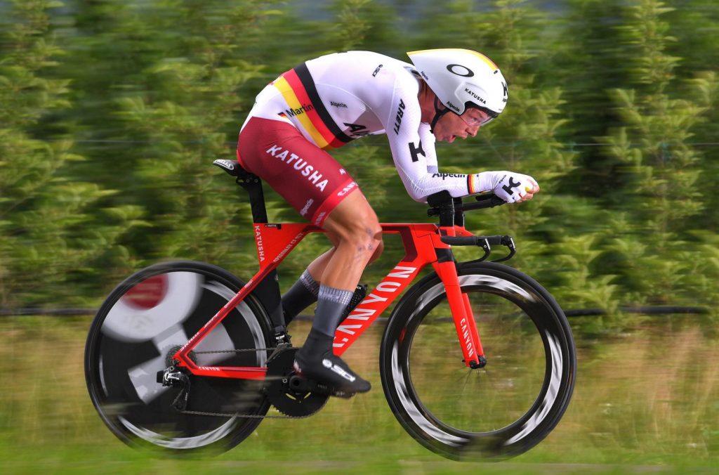 Verpasste um 14 Sekunden den Tagessieg der 16. Giro-Etappe 2018: Tony Martin (Katusha-Alpecin) - Foto: Tim De Waele / Getty Images