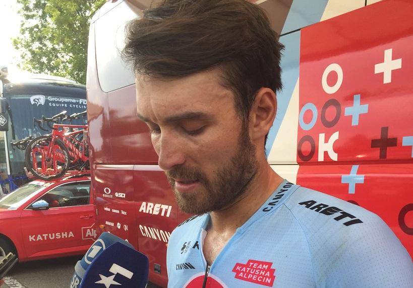 Darf die 105. Tour de France fortsetzen - Rick Zabel (Katusha-Alpecin) - Foto: Christoph Sicars
