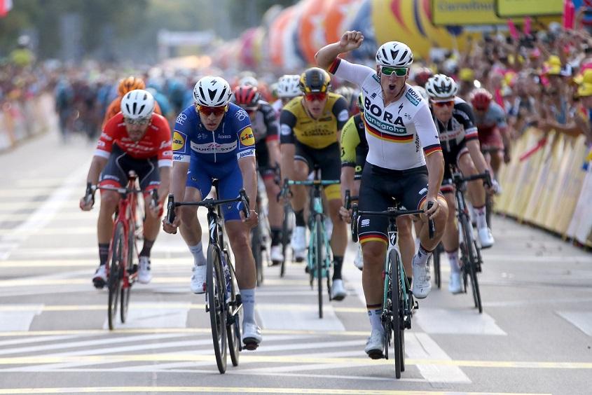 Deutscher Sieger in Krakau: Pascal Ackermann (Bora-hansgrohe) - Foto: © BORA - hansgrohe / Bettiniphoto
